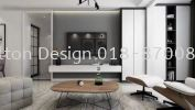 living hall design  tv feature wall 3D Drawing Interior & Exterior Design 三维绘画室内外设计图