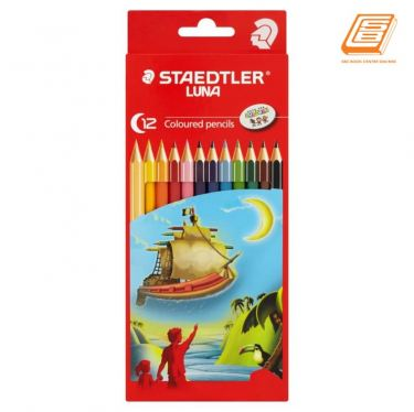 Staedtler 12 Luna Coloured Pencils - (136 C12)