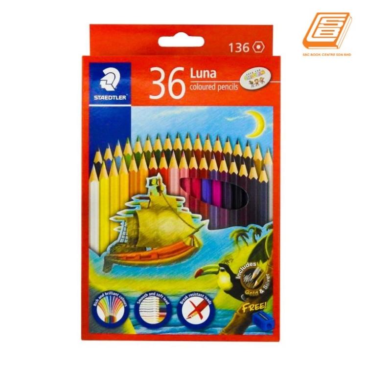 Staedtler 36Luna Coloured Pencils - (136 C36)