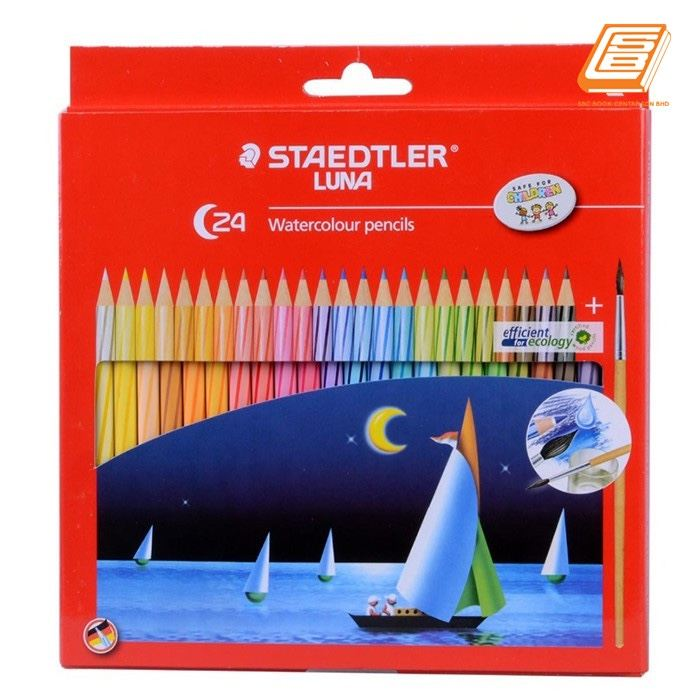 Staedtler 24 Watercolour Pencils - (61SET34)