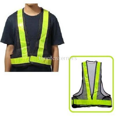 SC015-SAFETY VEST(BLACK)