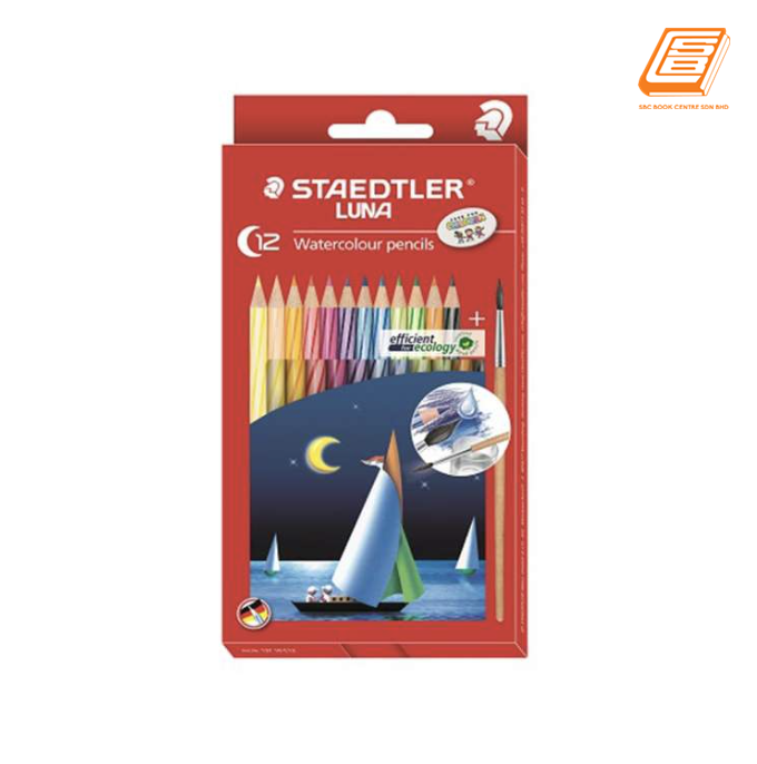 Staedtler 12 Watercolour Pencils - (61SET35)