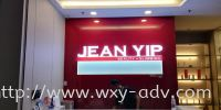 JEAN YIP Acrylic With LED Light Signboard Acrylic Signage