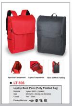 Laptop Back Bag LT806