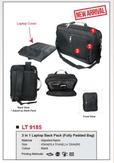 Laptop Back Bag LT9185