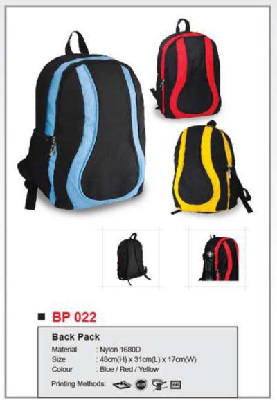 Back Pack BP022