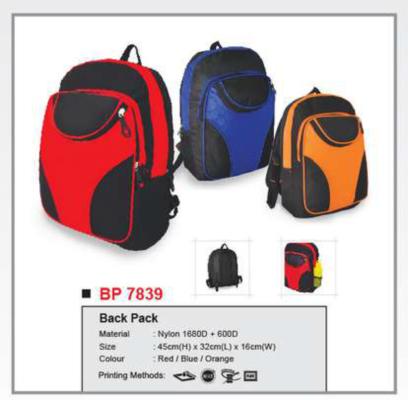 Back Pack BP7839