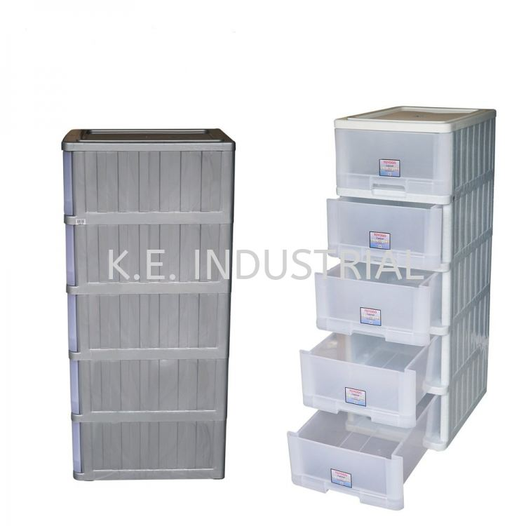 5-tiers Storage Cabinet with wheels (709-5)