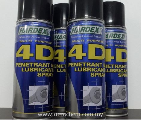 HARDEX 4D PENETRANT & LUBRICANT SPRAY