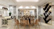 dining area 3D Drawing Interior & Exterior Design 三维绘画室内外设计图