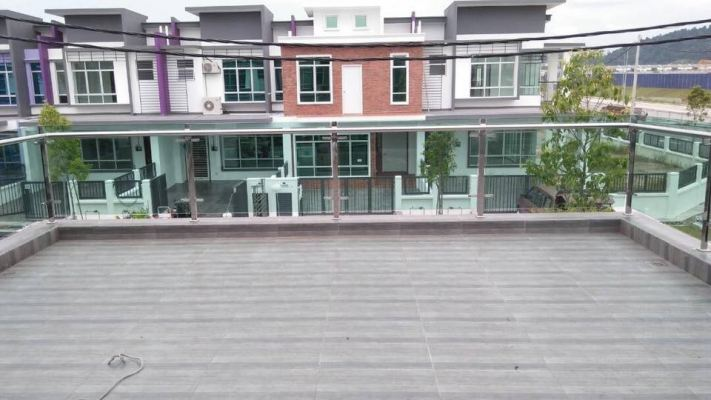 Tempered Glass Balcony Fencing