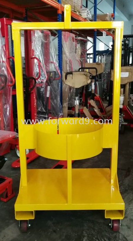 Customize Overhead Vertical Drum Lifter  Customization Material Handling Equipment