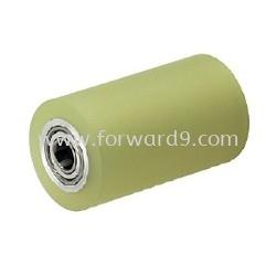 Polyurethane (PU) Roller c/w Mild Steel Rim  Polyurethane ( PU )  Polymer ( PU / Rubber etc )