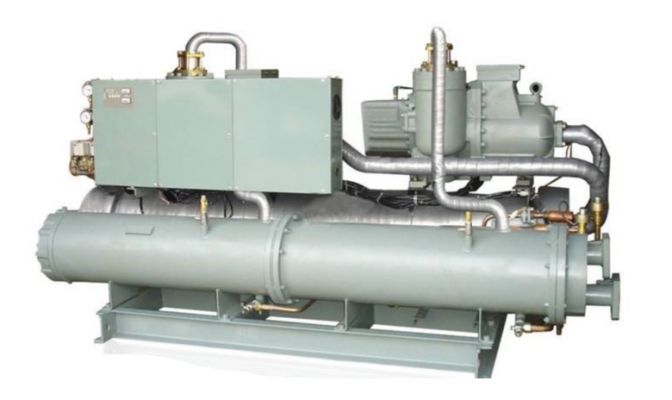 Hitachi Water-Cooled  Screw Chiller R407C