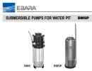 Ebara Submersible Pumps For Water Pit BMSP Ebara Pumps