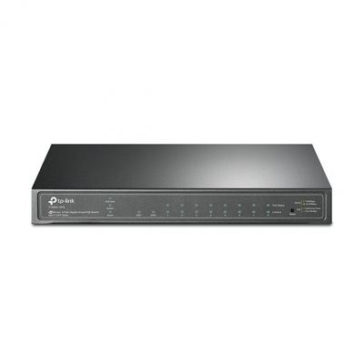 T1500G-10PS (TL-SG2210P). TPlink JetStream 8-Port Gigabit Smart PoE Switch with 2 SFP Slots