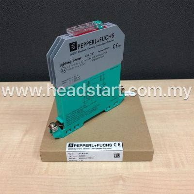 PEPPERL+FUCHS SURGE PROTECTION BARRIER K-LB-2.30 MALAYSIA