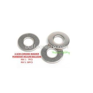2.5CM CHROME WASHER