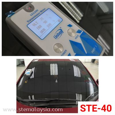 Benefit of STE Window Tint -  Up To 9 Years Warranty !  Accept Old Tinted Trade In !  Trade In Value Up To RM 2100 !  We Only Have High UV & IR Rejection !  Privacy and Security !  Protects The Interior Of Your Vehicle !  T & C Apply   Choosing the right heat rejection window films for your car  is very important especially under the hot weather  in Penang. A good quality car window film is able to reduce the heat & harmful UV rays from direct sunlight  so it keeps you comfortable in the car and protects the interior of your car such as the leather seats & dashboard.  STE Auto Detailing offers the best in class car window films from USA that approved by JPJ .