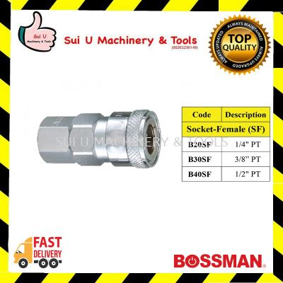 BOSSMAN Quick Connect Coupling for Socket-Female