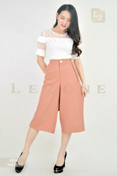 768751 POCKET DETAIL CULOTTES ��30% 40% 50%��