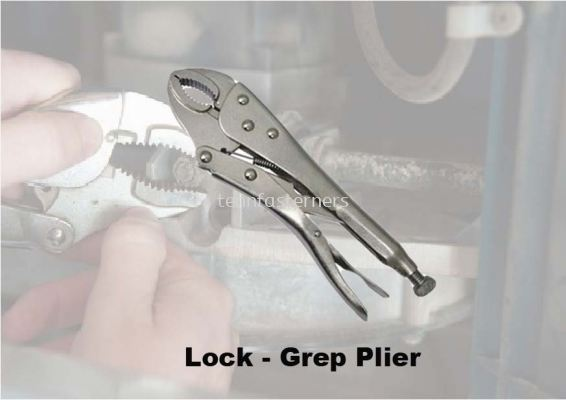 "5"" (125MM) LOCK - GREP PLIER"