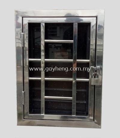Stainless Steel Electric Meter Door  �ֵ����