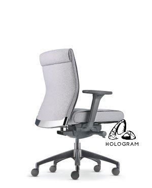 PEGASO LOW BACK CHAIR-FABRIC