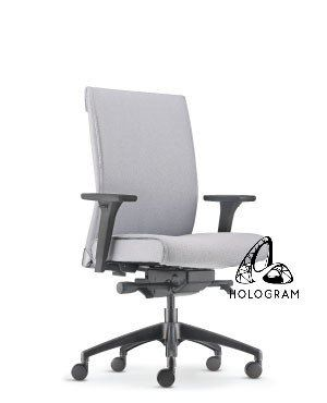 PEGASO MEDIUM BACK CHAIR-FABRIC