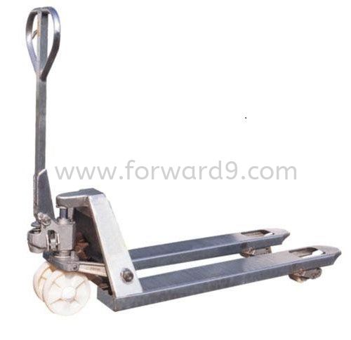 AC25S/L-GN Hot Dipped Galvanized Hand Pallet Truck Hot Dipped Galvanized Hand Pallet Truck Material Handling Equipment