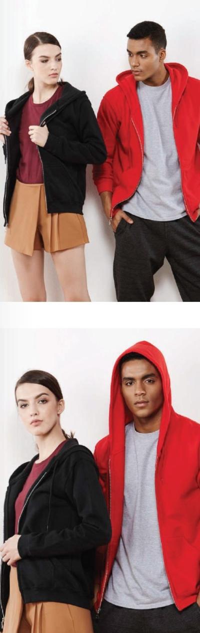 Adult Full Zip Hooded Sweatshirt 88600
