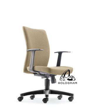 ERGO MEDIUM BACK CHAIR-FABRIC