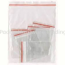 Zip Lock Plastic Bag