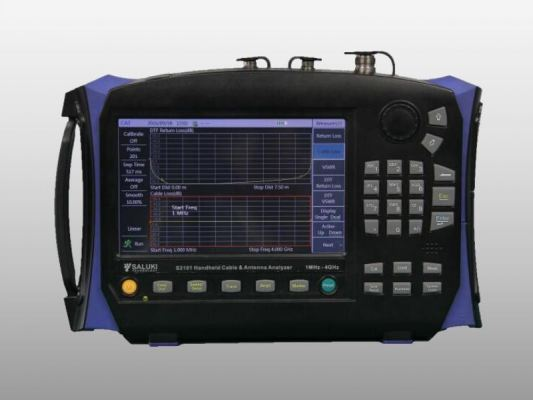 Saluki S3101 Cable and Antenna Analyzer (1MHz - 4GHz / 8GHz)