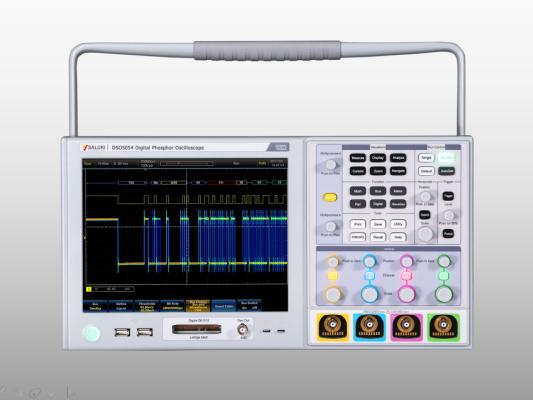 Saluki DSO5000 Series Digital Phosphor Oscilloscope (4CH, 500MHz/1GHz)