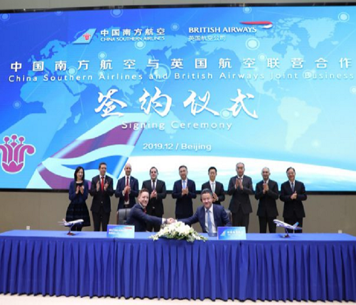 British Airways and China Southern launch joint venture Others