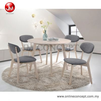 JM Concept Luminous UF2007 Dining Set (1+4)