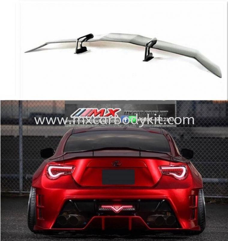 TOYOTA GT 86 KHUL RACING GT WING SPOILER  GT 86 TOYOTA