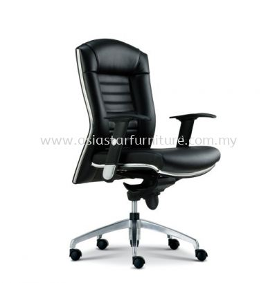 AIM DIRECTOR LOW BACK CHAIR WITH CHROME TRIMMING LINE ASE 1013