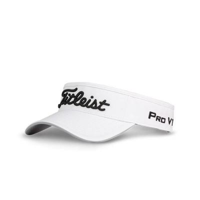 Staff Collection: White | Black - Front VISOR