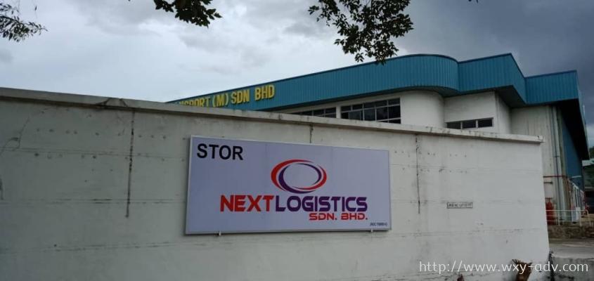 NEXT LOGISTICS SDN. BHD. Polycarbonate Signage
