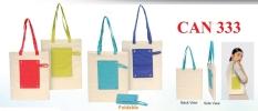 CAN333  Foldable Canvas Bag Non Woven Bags Souvenir
