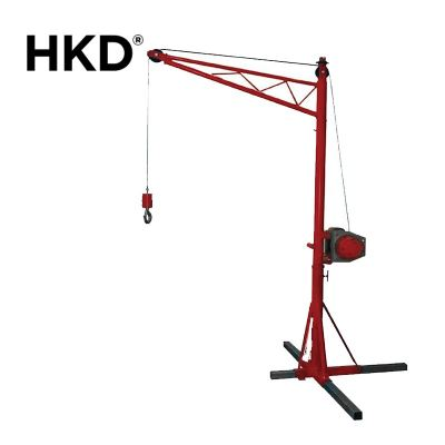 HKD Portable Crane With Drum Winch (Single Phase/Three Phase)