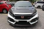 Honda Civic FC Varis Style Carbon Hood  Civic FC 2016 Honda