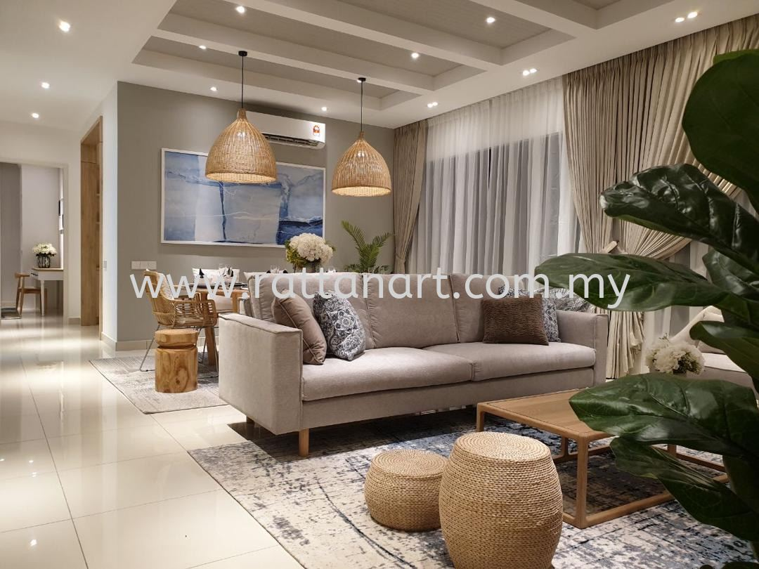Supply To Show Unit Eco Horizon @ Penang By Rattan Art