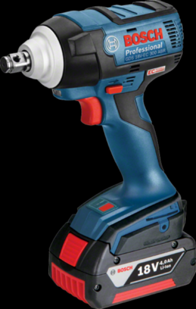 BOSCH Cordless Impact Driver GDS 18V-EC 300 ABR Professional