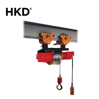 HKD Monorail Drum Winch With Plain Trolley