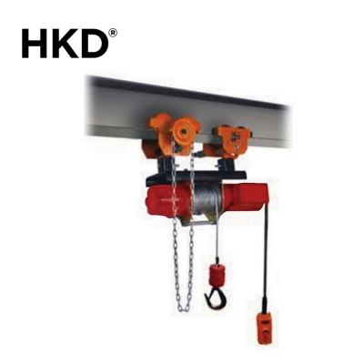 HKD Monorail Drum Winch With Gear Trolley