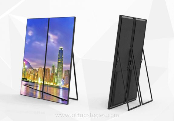 Portable LED Panel Display