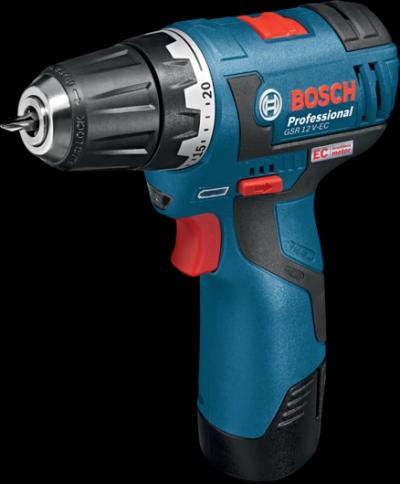 BOSCH Cordless Drill GSR 12 V-EC Professional